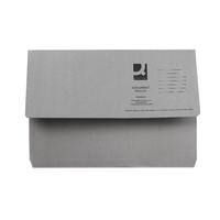 Q-Connect Grey Document Wallet 285g Pk50