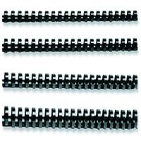 Q-Connect 16mm Black Binding Comb Pk50