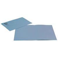 Q-Connect Sq Blue Cut Folder 180g Pk100