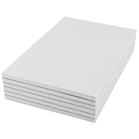 Q-Connect Scribble Pad 203x127mm Plain