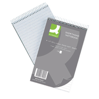 Q-Connect Shorthand Notebook Ruled Pk10
