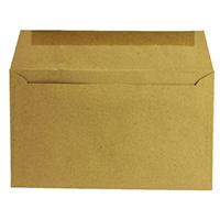 Q-Connect Gum/Manilla 89x152mm Envelopes