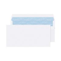 Q-Connect DL Wht S/Seal Envelope Pk1000