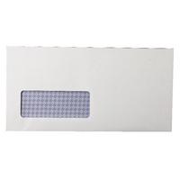 Q-Con Wndw S/Seal 80g DL Envelope P1000