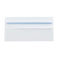 Q-Connect White DL S/Seal Envelope Pk500