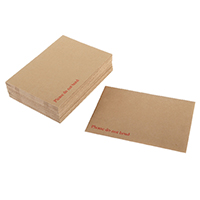 Q-Connect B/Backed P/S Envelope Pk125