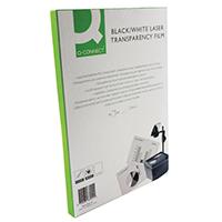 Q-Connect OHP Laser Printer Film A4 Pk50