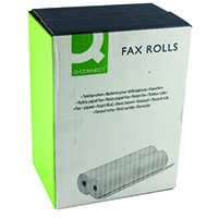 Q-Connect 210mmx24mx12mm Fax Roll Pk6