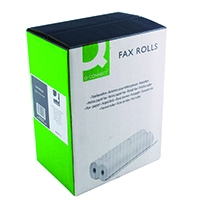 Q-Connect 216mmx15mx12mm Fax Roll Pk6