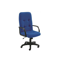FF Arista Chair Manager Royal Blue