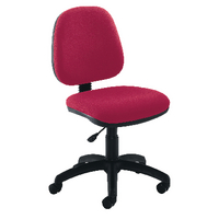 FF Jemini Medium Back Chair Claret