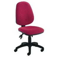 FF Jemini High Back Tilt Op Chair Claret