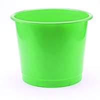 Q-Connect Green 15 Litre Waste Bin