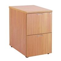 FF Jemini 2 Drw Filing Cabinet Beech