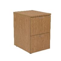 FF Jemini 2 Drw Filing Cabinet Oak