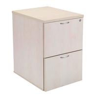 FF Jemini 2 Drw Filing Cabinet Maple