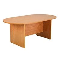 FF Arista 1800mm Rect Meeting Table Oak