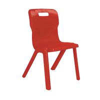 FF DD Titan 1Pce School Chr Size4 Red