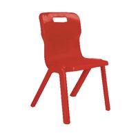 FF DD Titan 1Pce School Chr Size6 Red