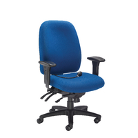 FF Avior H/Duty Hb Chair W Lumbar Blue
