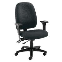 FF Avior H/Duty Hb Chair W Lumbar Black