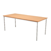 FF Jemini Rectang Table 1600X800mm Bch