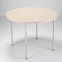 FF Jemini Circular Table 1200mm Maple