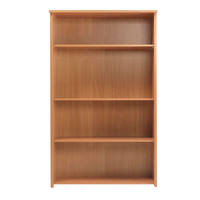 FF Serrion 1750mm Large Bookcase Beech