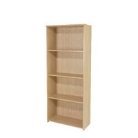 FF Jemini 1775mm Large Bookcase Oak