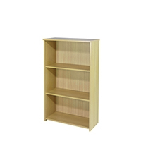 FF Jemini 1225mm Medium Bookcase Maple