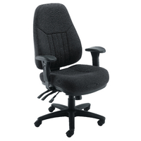 FF Avior 24 Hour Heavy Duty Chair Black
