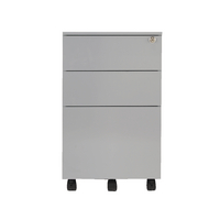 FF Jemini Contract Steel Pedestal Sil