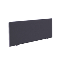 FR FIRST DESK SCREEN 400HX1400W CHARCOAL