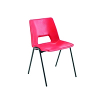 FF Jemini Class Chair Red 350mm