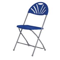 FF Titan Folding Chair Blue