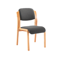 FF Jemini Char Wood Frame Chair