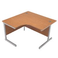 Jemini Oak 1200mm Cantilever L/H Desk