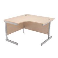 Jemini Maple 1200mm Cantilever L/H Desk