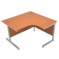 Jemini Oak 1200mm Cantilever R/H Desk
