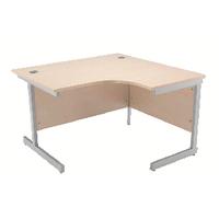 Jemini Maple 1200mm Cantilever R/H Desk