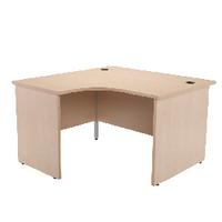 Jemini Maple 1200mm Panel End L/H Desk