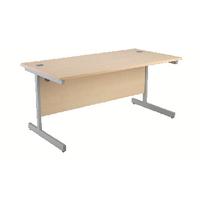 Jemini Maple 1200mm Cantilever Rect Desk