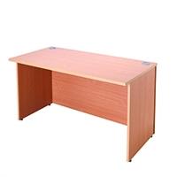Jemini Bav/Beech 1600mm Reception Desk