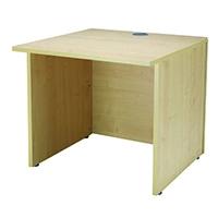 Jemini Maple Ultra 800mm Reception Desk