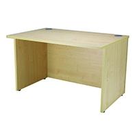 Jemini Maple Ultra 1200mm Reception Desk