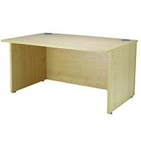 Jemini Maple Ultra 1600mm Reception Desk