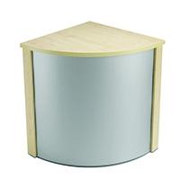 Jemini W/Maple Ultra 90Deg Corner Desk