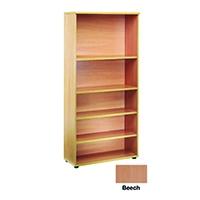 FF Jemini 2000mm Bookcase Beech