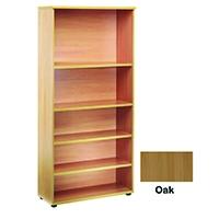 FF Jemini 2000mm Bookcase Oak