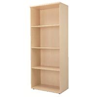 FF Jemini 2000mm Bookcase Maple